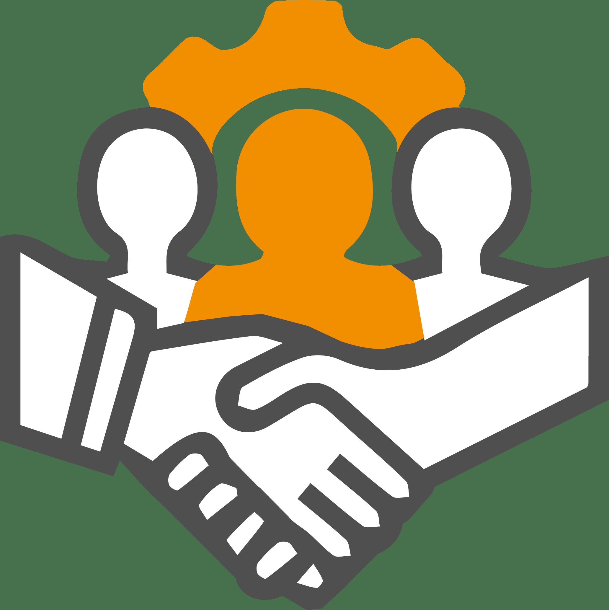 pictogramme des membres engagés -icon team